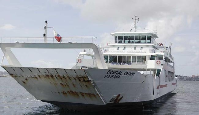 Uma das embarcações adquiridas na Grécia recebeu o nome de Dorival Caymmi - Foto: Joá Souza | Ag. A TARDE | 18.08.2014