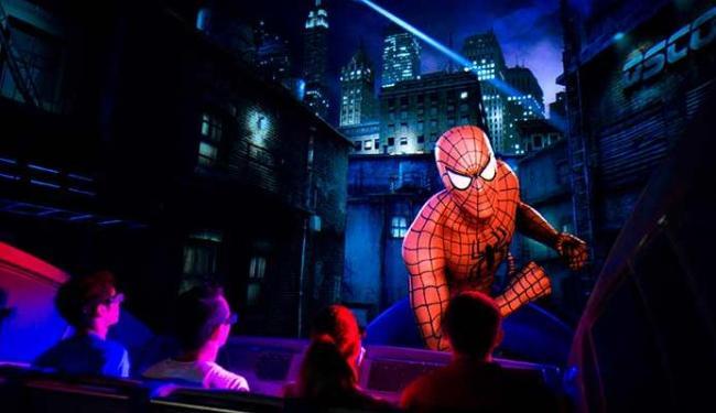 Brinquedos de personagens do estúdio, como Homem-Aranha, vão ter no local - Foto: Divulgação