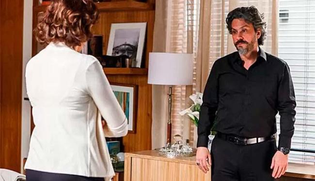 José Alfredo aceita o acordo e eles adiam, por ora, o assunto do divórcio - Foto: Artur Meninea   GShow   Divulgação