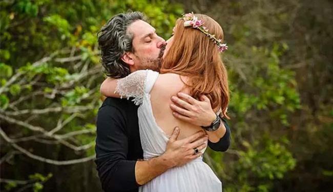 Maria Isis e Zé Alfredo se casam em cerimônia simbólica - Foto: Alex Carvalho   TV Globo   Divulgação