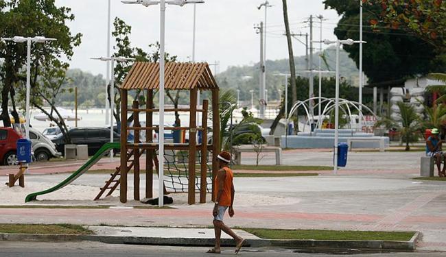 Espaço contará com equipamentos de lazer para a população - Foto: Raul Spinassé | Ag. A TARDE