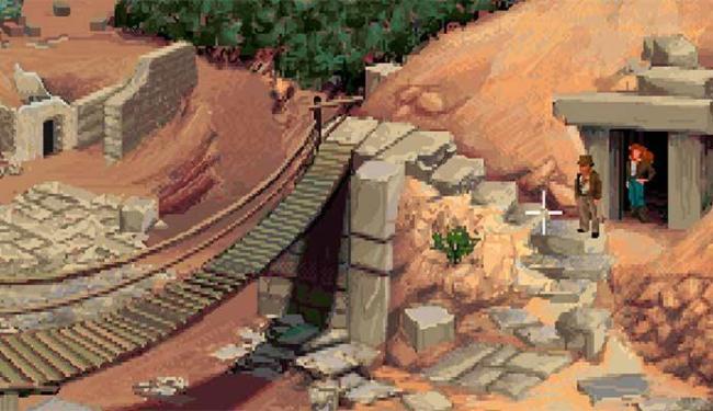 Indiana Jones and the Fate of Atlantis é um dos mais divertidos com o famoso arqueólogo - Foto: Reprodução