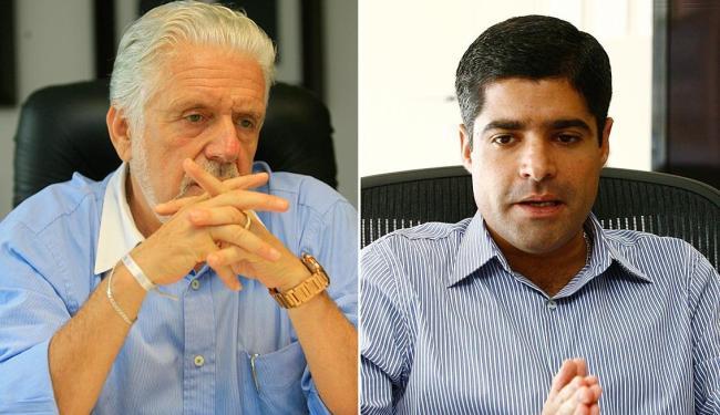 Se Dilma vencer Wagner deve ser futuro ministro; Neto sai fortalecido em eventual vitória de Aécio - Foto: Joá Souza e Marco Aurélio Martins | Ag. A TARDE