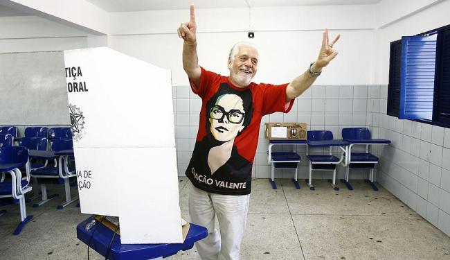 Governador mostrou confiança na vitória de Dilma - Foto: Marco Aurélio Martins | Ag. A TARDE