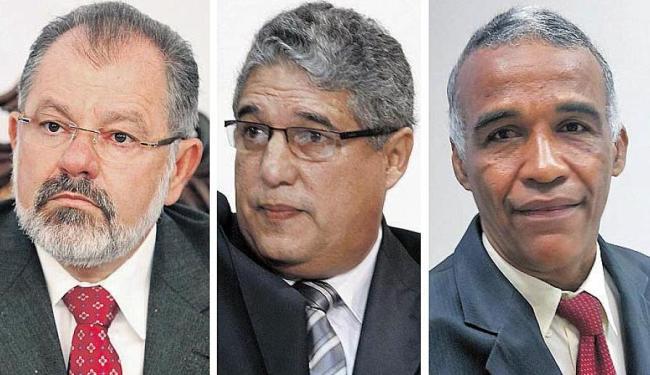 Nilo é o candidato da continuidade; Rosemberg, o da oposição; e Isidório, a