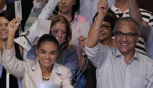 Marina Silva e Guilherme Leal (D) na eleição de 2010 - Foto: Mauricio Lima | AP