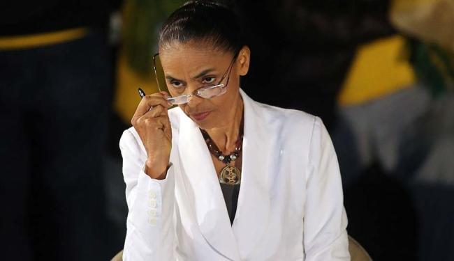 Marina disse que o seu programa de governo servirá de base para tomar uma posição para o 2º turno - Foto: Nacho Doce | Agência Reuters