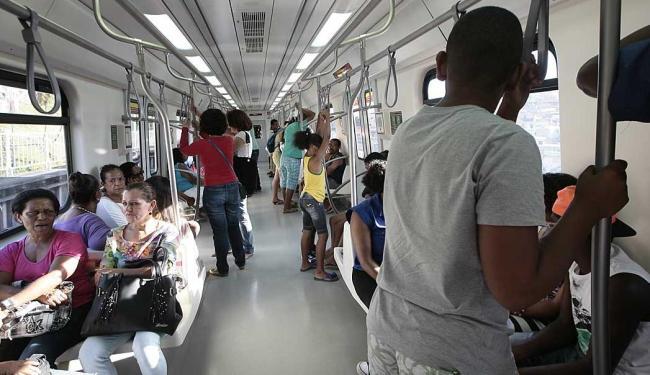 Metrô vai funcionar das 7h30 às 17h30 para ajudar na mobilidade no dia da eleição - Foto: Mila Cordeiro | Ag. A TARDE