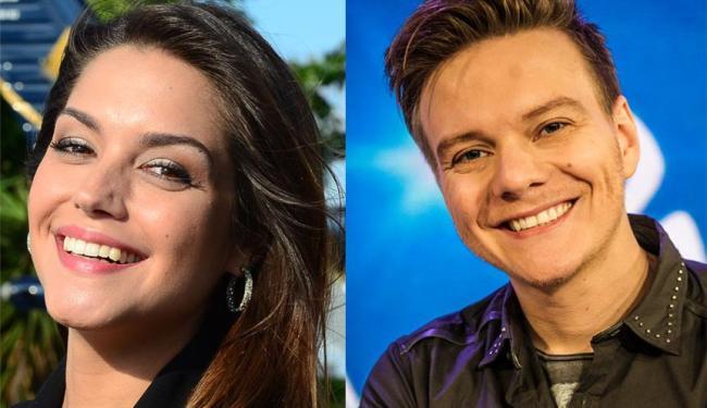 Atriz e cantor estão juntos desde 2012 - Foto: Divulgação | Rede Record | TV Globo