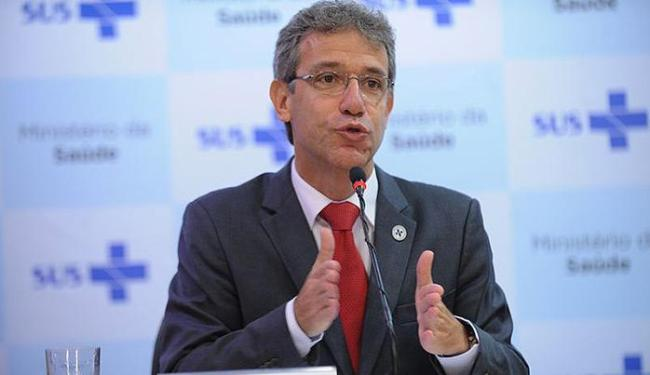 Ministro da Saúde, Arthur Chioro, reitera que risco de transmissão é baixo no País - Foto: Elza Fiúza l Agência Brasil