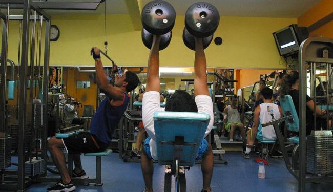 Em 2013, 18,46% do grupo masculino entrevistado dizia praticar musculação - Foto: Fernando Vivas   Ag. A TARDE   24.11.2004
