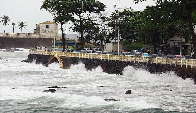 Aumento do nível do mar é um fenômeno sem precedentes em milênios - Foto: Fernando Vivas   Ag. A TARDE   28.09.2012