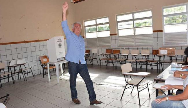 Candidato ao Senado votou no município de Rui Barbosa - Foto: Divulgação