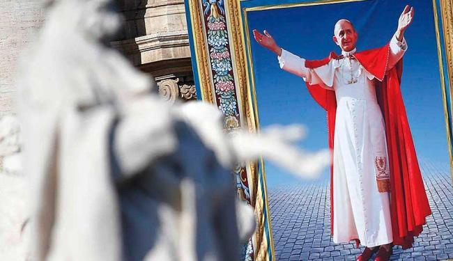 Papa Francisco destacou Paulo VI como homem que conduziu Igreja com sabedoria e visão de futuro - Foto: Agência Reuters