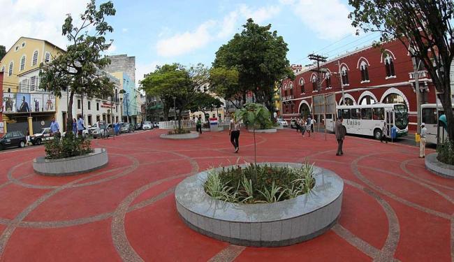 Nova Praça dos Veteranos ganhou piso especial e paisagismo - Foto: Manu Dias | Divulgação Secom