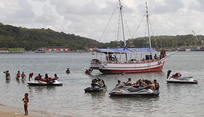 Presidente Dilma escolheu a praia de Inema para descansar até domingo - Foto: Lúcio Távora   Ag. A TARDE