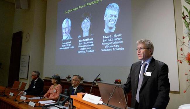 A assembleia do Nobel concedeu um prêmio de 8 milhões de coroas suecas (1,1 milhão de dólares) - Foto: Bertil Ericson   Ag. Reuters