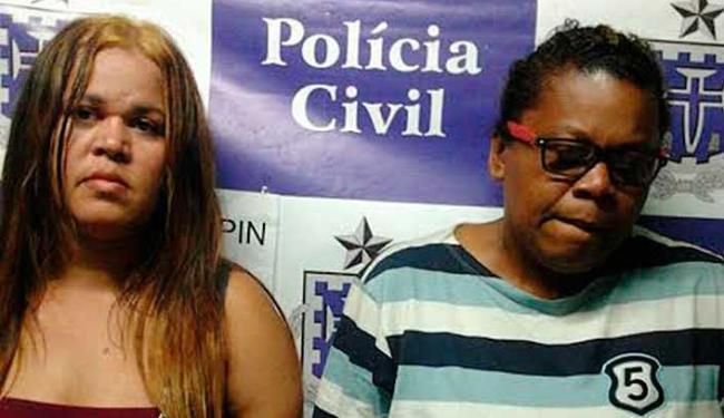 Estelionatárias foram presas em flagrante aplicando golpe em loja - Foto: Divulgação | ASCOM Polícia Civil