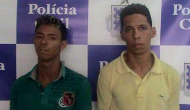 Augusto e José são suspeitos pelos assassinato de guarda municipal em setembro desse ano - Foto: Divulgação | ASCOM Polícia Civil