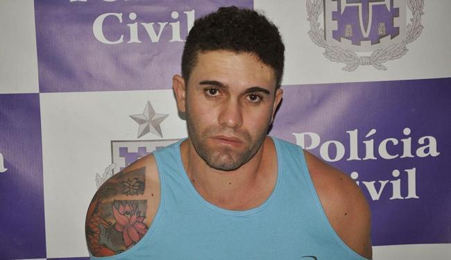 Thiago foi preso em sua própria residência no município de Serrinha - Foto: Divulgação   ASCOM Polícia Civil