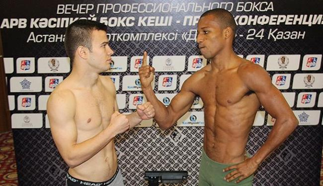 Robson Conceição (D) estreia nesta sexta contra lutador alemão - Foto: Mateus Alves l CBBoxe