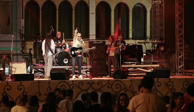 Rodrigo V8, Emilio Cunha e o Coletivo Musical abriram o festival - Foto: Mila Cordeiro   Ag. A TARDE