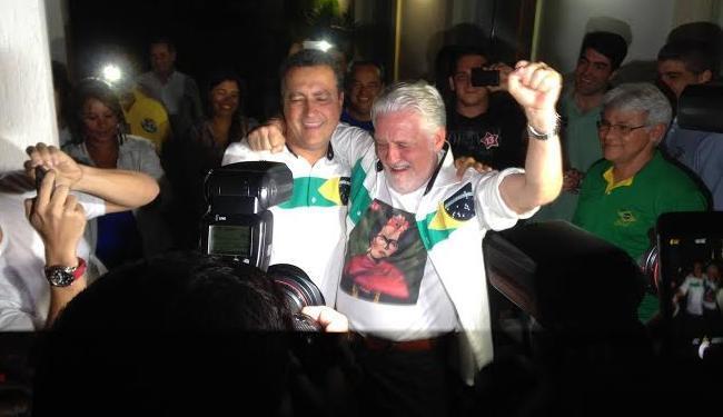 Jaques Wagner elege Rui Costa na Bahia e se prepara segundo turno ao lado de Dilma - Foto: Reprodução