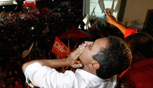 Rui Costa agradece a vitória pelo Governo da Bahia - Foto: Raul Spinassé   Ag. A TARDE