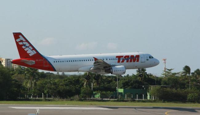 Incidente aconteceu em um voo da TAM - Foto: Joá Souza | Ag. A TARDE