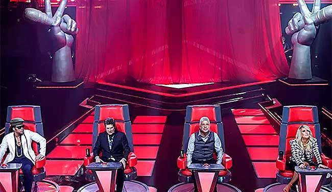 OThe Voice Brasil é baseado no The Voice da TV americana NBC - Foto: TV Globo | Divulgação