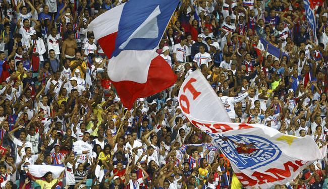 Torcida tricolor poderá apoiar o time no jogo deste domingo - Foto: Eduardo Martins | Ag. A TARDE
