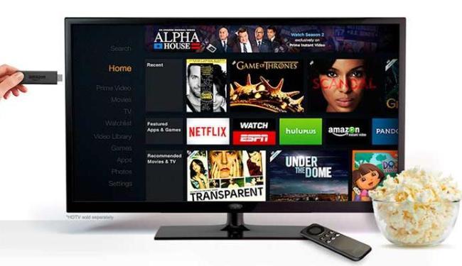 TV Stick permite assistir a conteúdo em streaming na televisão - Foto: Divulgação