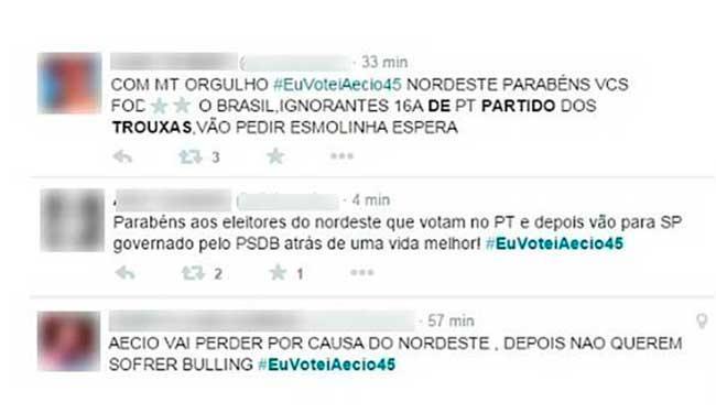 Após confirmação da reeleição de Dilma Rousseff nordestinos sofrem preconceito - Foto: Reprodução | Twitter