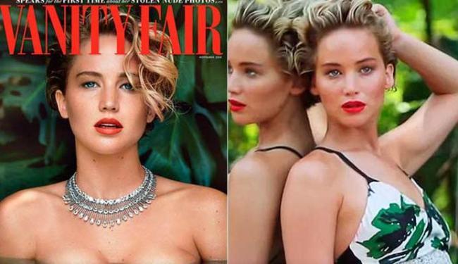 Atriz fez revelações na edição de outubro da revista americana Vanity Fair - Foto: Reprodução