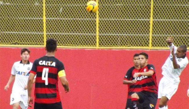 Rubro-negro vence e abre boa vantagem para o jogo de volta - Foto: Divulgação l E.C. Vitória