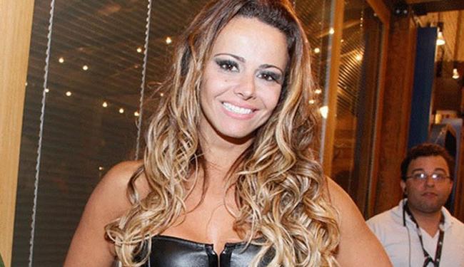 Viviane Araújo foi apontada como protagonista de vídeo de sexo - Foto: Divulgação
