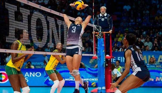 O sonhado título mundial do vôlei feminino brasileiro foi adiado novamente - Foto: Divulgação   FIVB
