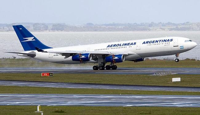 Voo será feito pela companhia Aerolíneas Argentinas com trajeto de cinco horas e meia - Foto: Reprodução | Site Aerolíneas
