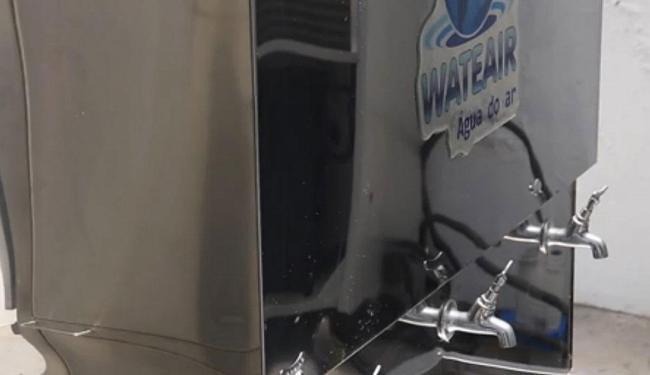 Máquina de fazer água tem versão básica que produz cinco mil litros por dia - Foto: Divulgação