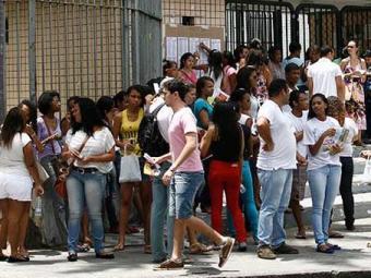 O resultado final do exame será divulgado apenas em janeiro. - Foto: Luciano da Matta | Ag. A TARDE