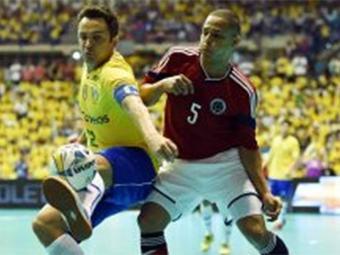 Falcão foi eleito o melhor jogador da competição - Foto: Reprodução l CBFS