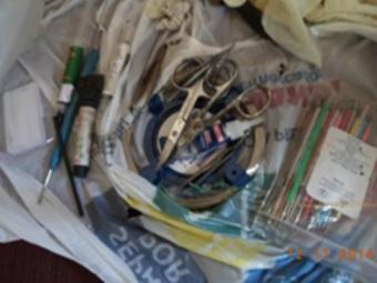 Material apreendido em consultório clandestino é de uso de cirurgiões dentistas, diz polícia - Foto: Ascom   Polícia Civil