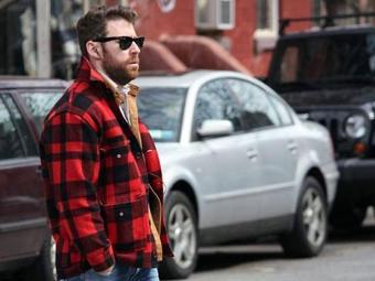 Camisa xadrez compõe o look do lumbersexual - Foto: Divulgação