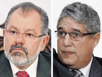 Nilo é o candidato da continuidade; Rosemberg, o da oposição - Foto: Edilson Lima, Xando Pereira e Biaggio Talento   Ag. A TARDE