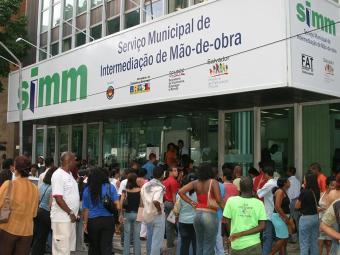 Posto fixo do SIMM, no bairro do Comércio - Foto: Eduardo Martins | Ag. A TARDE