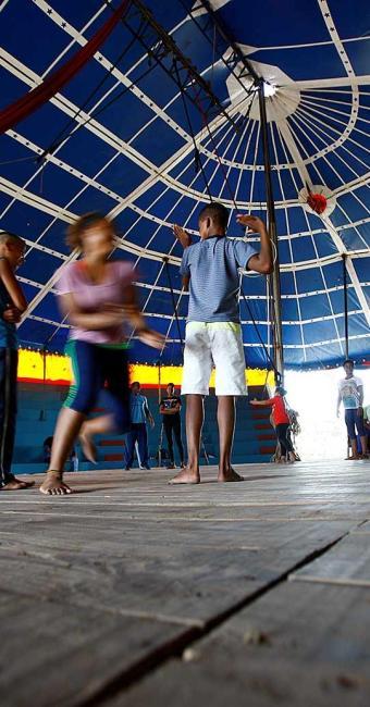 Aulas gratuitas vão acontecer às terças e quintas-feiras, das 14h às 17h, no circo Picolino - Foto: Fernando Vivas | Ag. A TARDE