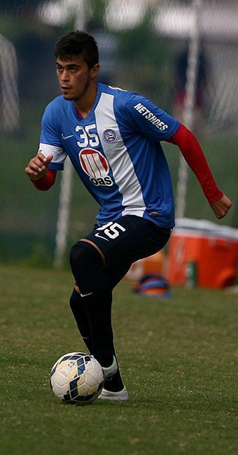 Emanuel ainda não está confirmado para enfrentar o Timão - Foto: Joá Souza   Ag. A TARDE