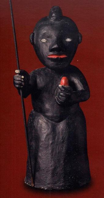 Escultura de Exu do Mestre Didi - Foto: Acervo dos autores | Divulgação