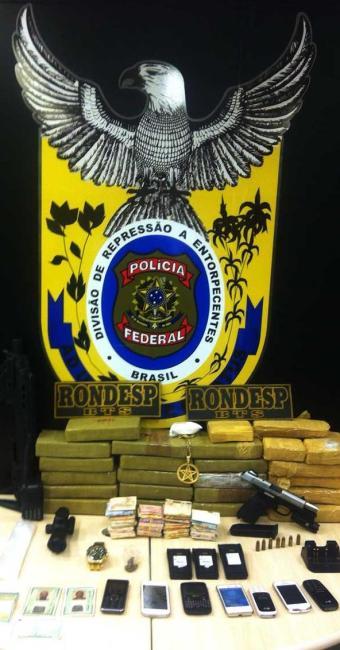 Operação apreendeu 23kg de cocaína - Foto: Divulgação   Polícia Federal