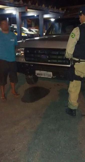 O motorista dirigia depois de ter ingerido 0,52 de álcool - Foto: Foto/Divulgação da PRF